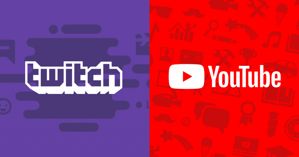 YouTube и Twich