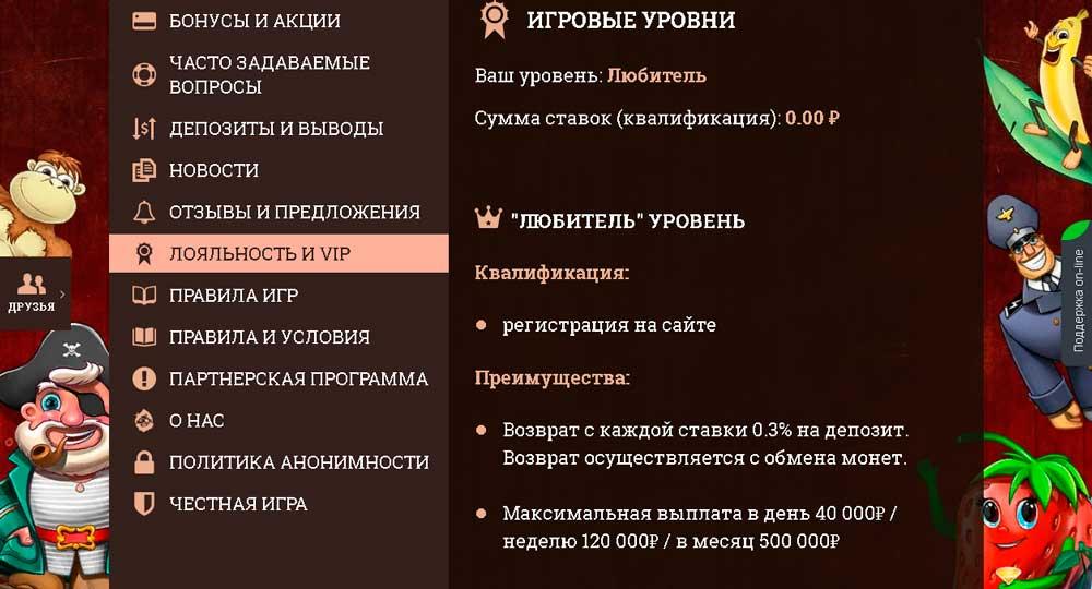 Система статусов игроков