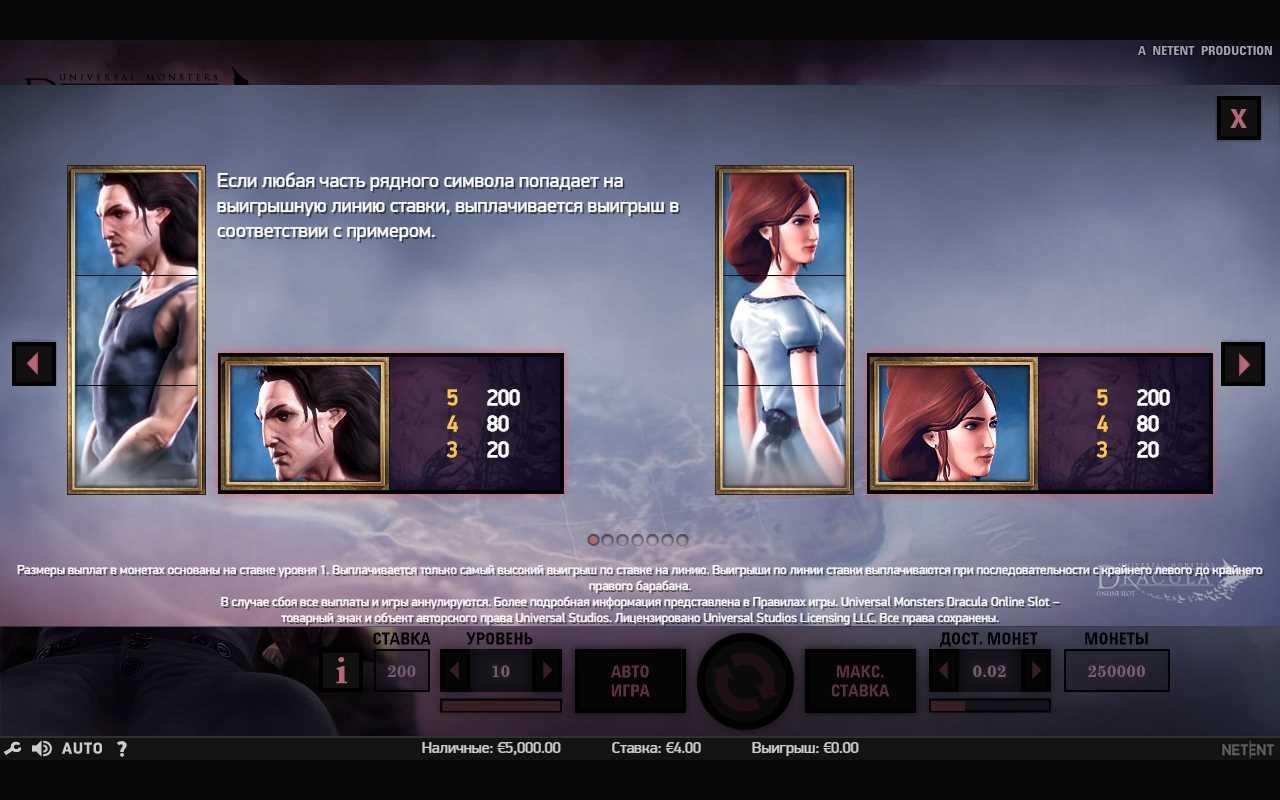Значения символов в игре