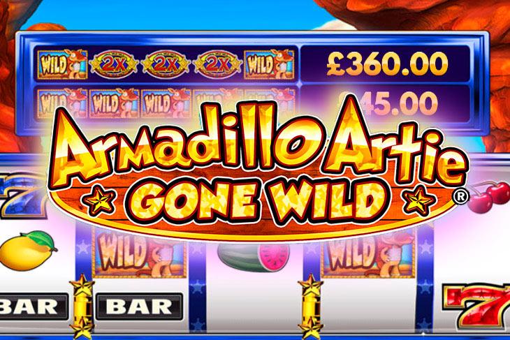 Armadillo Artie Gone Wild