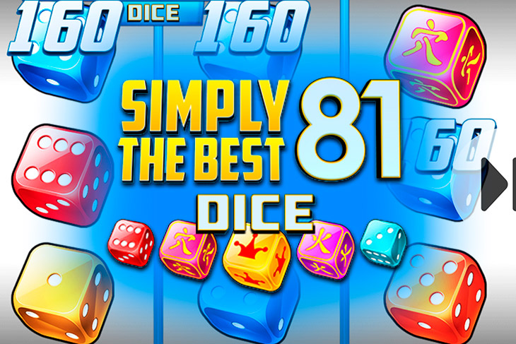 Simply The Best 81 Dice