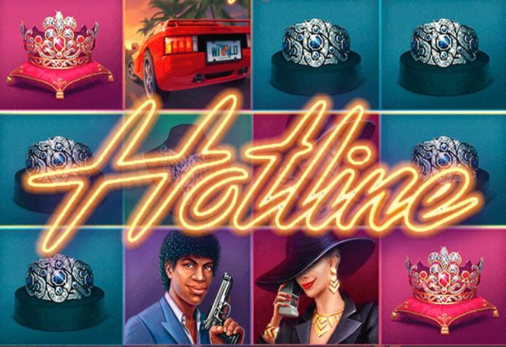 Игровой автомат hotline горячая линия играть бесплатно и без регистрации
