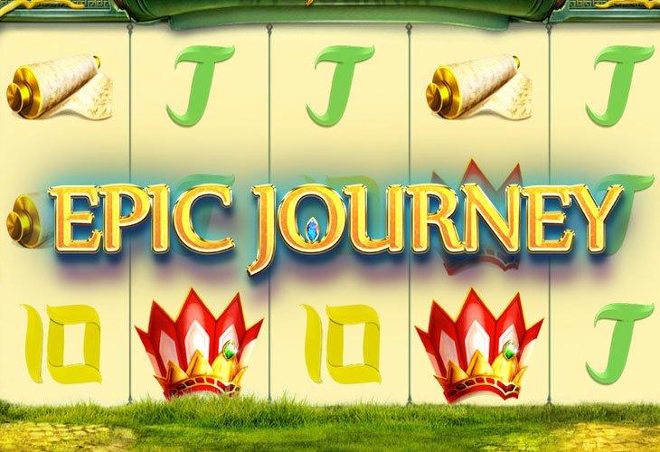 Ставок epic journey эпическое путешествие игровой автомат лайф