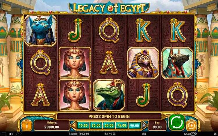 Legacy of egypt игровой автомат игровые автоматы по 20 линий