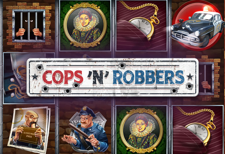 cops n robbers игровой автомат