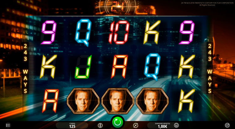 Заставка игрового автомата