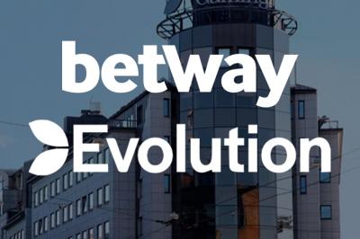 Betway и Evolution Gaming будут вместе работать