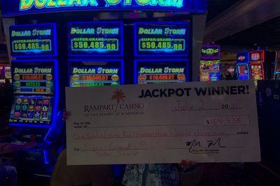 В Лас-Вегасе выиграла джекпо