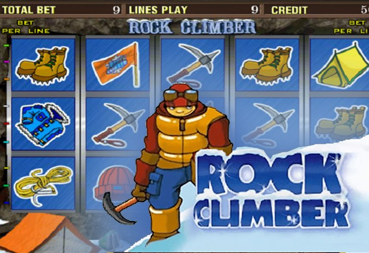 Мир приключений на игровом слоте «Rock Climber»