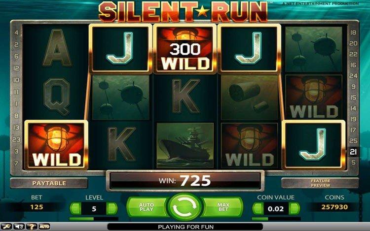 Silent run игровой автомат игровые автоматы изготовление