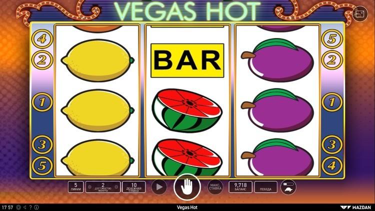 Vegas hot вегас хот игровой автомат ставка